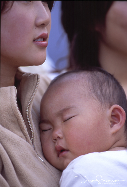Mother & Child at Japanese Festival