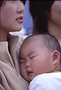 Mother & Child at Japanese Festival