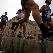 Roma 02/04/2017 <br /> Maratona di Roma 2017<br /> il passaggio a Via della Conciliazione