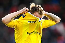 Chris Lines of Bristol Rovers cuts a dejected figure - Mandatory by-line: Robbie Stephenson/JMP - 27/10/2018 - FOOTBALL - Oakwell Stadium - Barnsley, England - Barnsley v Bristol Rovers - Sky Bet League One