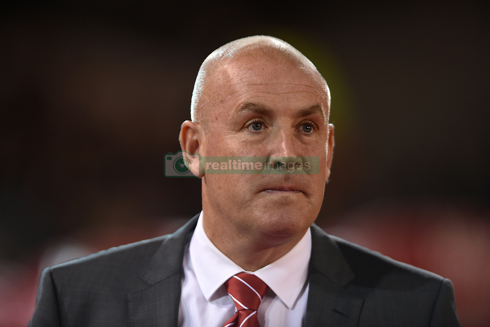 Nottingham Forest manager Mark Warburton during the Sky Bet Championship game at the City Ground, Nottingham.