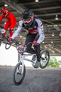#400 (JACKEL Marco) GER at Round 6 of the 2019 UCI BMX Supercross World Cup in Saint-Quentin-En-Yvelines, France