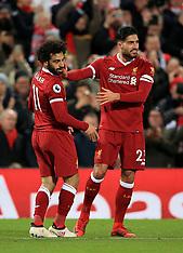 Liverpool v Tottenham, 4 Feb 2018
