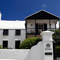 Bermuda, St. George's. The Bridge House.