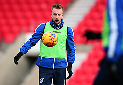 Chris Lines of Bristol Rovers - Mandatory by-line: Robbie Stephenson/JMP - 27/01/2018 - FOOTBALL - The Keepmoat Stadium - Doncaster, England - Doncaster Rovers v Bristol Rovers - Sky Bet League One