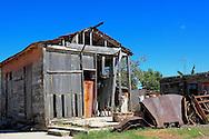 House in Campechuela, Granma, Cuba.