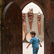 Young Morrocan boy in Essaouira, Morocco