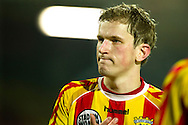 Onderwerp/Subject: Go Ahead Eagles - Jupiler League<br /> Reklame:  <br /> Club/Team/Country: Go Ahead Eagles<br /> Seizoen/Season: 2011/2012<br /> FOTO/PHOTO: Go Ahead Eagles's Sjoerd OVERGOOR dejected after the match. (Photo by PICS UNITED)<br /> <br /> Trefwoorden/Keywords:  <br /> #03 $94 ±1324459613958<br /> Photo- & Copyrights © PICS UNITED <br /> P.O. Box 7164 - 5605 BE  EINDHOVEN (THE NETHERLANDS) <br /> Phone +31 (0)40 296 28 00 <br /> Fax +31 (0) 40 248 47 43 <br /> http://www.pics-united.com <br /> e-mail : sales@pics-united.com (If you would like to raise any issues regarding any aspects of products / service of PICS UNITED) or <br /> e-mail : sales@pics-united.com   <br /> <br /> ATTENTIE: <br /> Publicatie ook bij aanbieding door derden is slechts toegestaan na verkregen toestemming van Pics United. <br /> VOLLEDIGE NAAMSVERMELDING IS VERPLICHT! (© PICS UNITED/Naam Fotograaf, zie veld 4 van de bestandsinfo 'credits') <br /> ATTENTION:  <br /> © Pics United. Reproduction/publication of this photo by any parties is only permitted after authorisation is sought and obtained from  PICS UNITED- THE NETHERLANDS