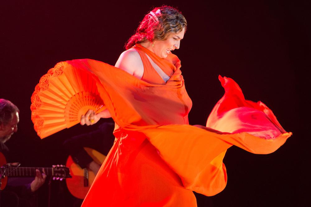 Estrella Morente.<br /> Teatro Real, Madrid.<br /> Gira Bankinter 2015