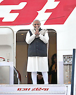 Indian Prime Minister Modi Leaves For London