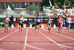 CORSO Oxana, ITA, 200m, T35, 2013 IPC Athletics World Championships, Lyon, France