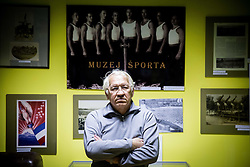 Iztok Durjava, director of Slovene Sports Museum. Ljubljana's Sports Museum is dedicated to the history of sports in Slovenia. Its permanent exhibition, still in preparation, is going to consist of over 2.500 exhibits including written documents and other materials testifying to the history of sports in Slovenia, on September 12, 2014 in  Ljubljana, Slovenia. Photo by Vid Ponikvar  / Sportida.com