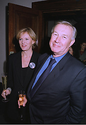 MISS VICKI DAVIS and SIR TERENCE CONRAN at a party in London on 17th September 1997.MBG 28
