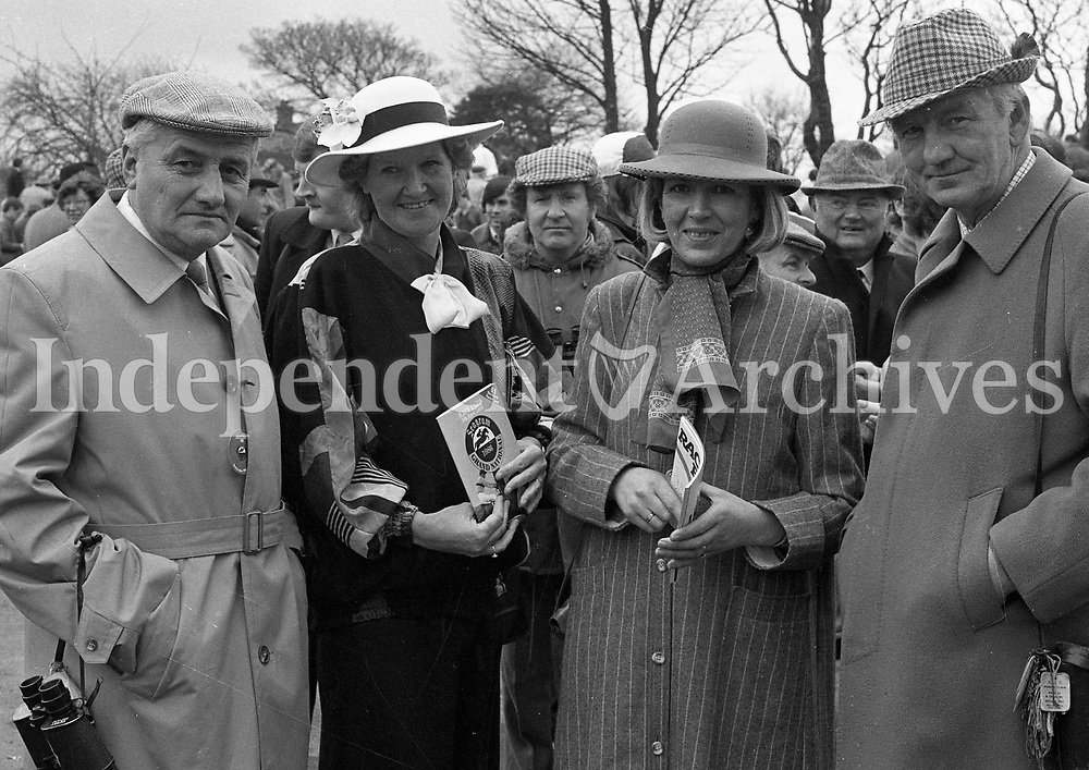 The Aintree Grand National, Aintree, Merseyside, England, circa April 1986 (Part of the Independent Newspapers Ireland/NLI Collection).