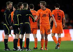 09-02-2011 VOETBAL: NEDERLAND - OOSTENRIJK: EINDHOVEN<br /> Netherlands in a friendly match with Austria won 3-1 / Luuk de Jong NED<br /> ©2011-WWW.FOTOHOOGENDOORN.NL