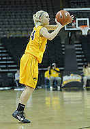 December 30, 2011: Iowa Hawkeyes guard Jaime Printy (24) puts up a three point shot during the NCAA women's basketball game between the Northwestern Wildcats and the Iowa Hawkeyes at Carver-Hawkeye Arena in Iowa City, Iowa on Wednesday, December 30, 2011.