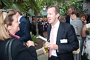 CAROLINE KENNY; CLUTTONS; MARK TUNSTELL; SAVILLS, , Archant Summer party. Kensington Roof Gardens. London. 7 July 2010. -DO NOT ARCHIVE-© Copyright Photograph by Dafydd Jones. 248 Clapham Rd. London SW9 0PZ. Tel 0207 820 0771. www.dafjones.com.