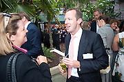 CAROLINE KENNY; CLUTTONS; MARK TUNSTELL; SAVILLS, , Archant Summer party. Kensington Roof Gardens. London. 7 July 2010. -DO NOT ARCHIVE-© Copyright Photograph by Dafydd Jones. 248 Clapham Rd. London SW9 0PZ. Tel 0207 820 0771. www.dafjones.com.