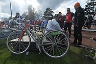 Paris Roubaix 2015 - 12/04/2015 - Compiègne - Roubaix - 253,5 km - France - John DEGENKOLB vainqueur de Paris Roubaix devant Zdenek STYBAR et Greg VAN AVERMAET, © foto Daniele Mosna