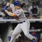 David Wright, New York Mets, batting during the New York Yankees V New York Mets, Subway Series game at Yankee Stadium, The Bronx, New York. 12th May 2014. Photo Tim Clayton