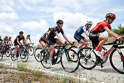 Hannah Barnes (GBR) in the lead group at Amgen Tour of California Women's Race empowered with SRAM 2019 - Stage 2, a 74 km road race from Ontario to Mount Baldy, United States on May 17, 2019. Photo by Sean Robinson/velofocus.com