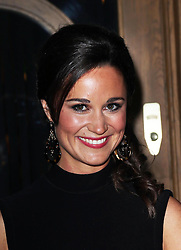 Pippa Middleton arriving for the launch of her book on party planning, ' Celebrate: A Year of Festivities for Family and Friends'  in London, Thursday, 25th October 2012.  Photo by: Stephen Lock / i-Images