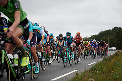 Abby-Mae Parkinson (GBR) in the bunch at Ladies Tour of Norway 2018 Stage 2, a 127.7 km road race from Fredrikstad to Sarpsborg, Norway on August 18, 2018. Photo by Sean Robinson/velofocus.com