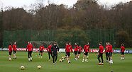 Wales Training Session - 06 November 2017