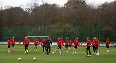 Wales Training Session - 06 November 2017