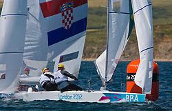 StarBRAScheidt Robert, Prada Bruno<br /> 2012 Olympic Games <br /> London / Weymouth