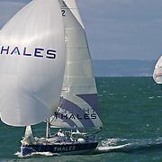 La course des falaises 2004.