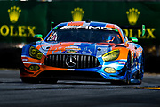 January 24-28, 2018. IMSA Weathertech Series ROLEX Daytona 24. 75 SunEnergy1 Racing, Mercedes-AMG GT3, Kenny Habul, Thomas Jaeger, Maro Engel