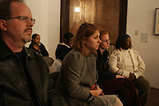 Audience at Artist talk of ' Shoot-Out: Lonely Crusade..An Homage to Jamel Shabazz ' held at The George and Leah McKenna African American Museum of Art on December 12, 2008 in New Orleans, Louisana