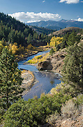 East Carson River, fall, Toiyabe National Forest, California