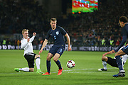 Eric Dier of England attacks the goal during the International Friendly match between Germany and England at Signal Iduna Park, Dortmund, Germany on 22 March 2017. Photo by Phil Duncan.