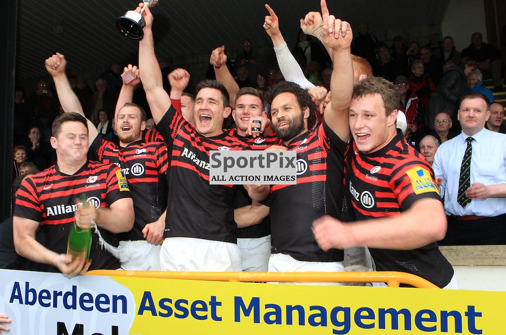 Saracens are the winners of the 2013 Aberdeen Asset Management Melrose 7s  (c) Stuart Adams | StockPix.eu