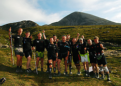 12 climbs of Croagh Patrick in 24 Hours,.A new record was set by 11 climbers on saturday last. Paul Mahon, Padraic Hughes, Padraig Marrey, Mary Mulchrone, Tony Walsh, Noel Brady, Robert Coyne, John Gilleran, Kieran Hastings, Pat Staunton and PJ Hall.