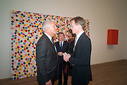 LARRY GAGOSIAN; SIR NICHOLAS SEROTA, Damien Hirst, Tate Modern: dinner. 2 April 2012.