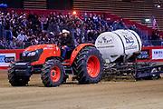 Kubota M6060 Far West during the Equestrian NRHA European Derby Open Finals Equita Lyon 2017 on November 4, 2017 at Eurexpo Lyon in Chassieu, near Lyon, France - Photo Romain Biard / Isports / ProSportsImages / DPPI