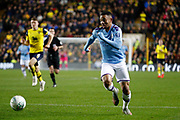 Gabriel Jesus (9) of Manchester City during the EFL Cup match between Oxford United and Manchester City at the Kassam Stadium, Oxford, England on 18 December 2019.