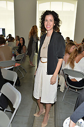 MOLLIE DENT-BROCKLEHURST at a lunch in aid of the charity African Solutions to African Problems (ASAP) held at the Louise T Blouin Foundation, 3 Olaf Street, London W11 on 21st May 2014.