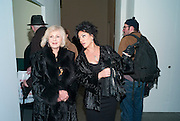 LIZ BREWER; NANCY DELL D'OLIO, Modern Moral Matters. Exhibition of work by Richard Hamilton. Serpentine. London. 2 March 2010