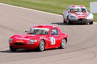 2008 Ginetta Junior Championship,.Rockingham, Northamptonshire, UK. 12th-13th April 2008..(8) - Dino Zamparelli - Muzz Racing.World Copyright: Peter Taylor/PSP