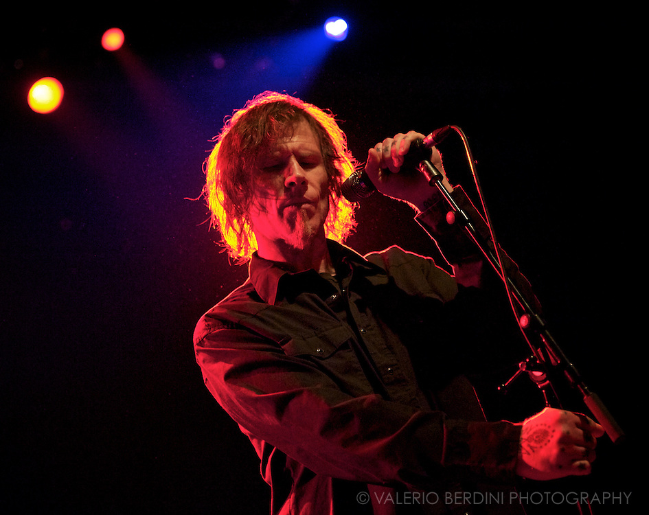 Mark Lanegan Band <br /> Live at the Shepherds Bush Empire <br /> London 13 March 2012