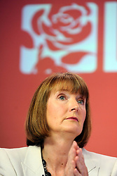 "© under license to London News Pictures. LONDON, UK. 25/02/14 Harriet Harman has said she ""regrets"" that a civil liberties group she used to work for had links to pro-paedophile campaigners in the 1970s and 1980s. FILE PICTURE DATED  03/05/2011. Labour Leader Ed Miliband holds a press conference with Harriet Harmen at the party's HQ this morning (03 May 2011). The Conference was to urge people to vote in favour of a yes vote at the forth coming AV Referendum. Photo credit should read Stephen Simpson/LNP."