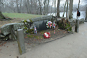 North Bridge memorial site, Concord, Massachusetts
