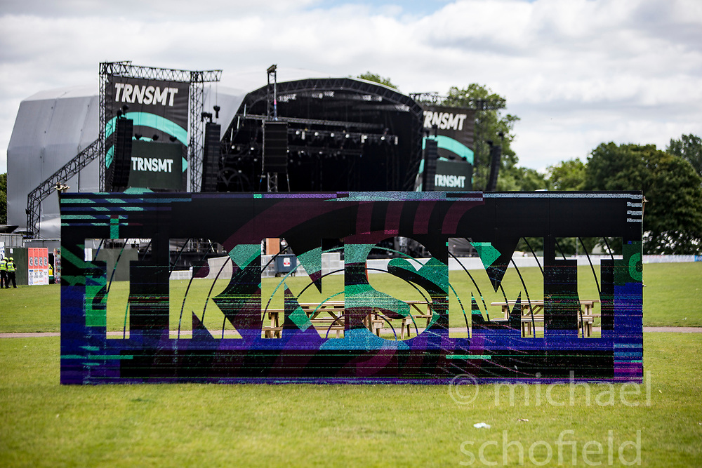 Saturday at TRNSMT music festival, Glasgow Green.
