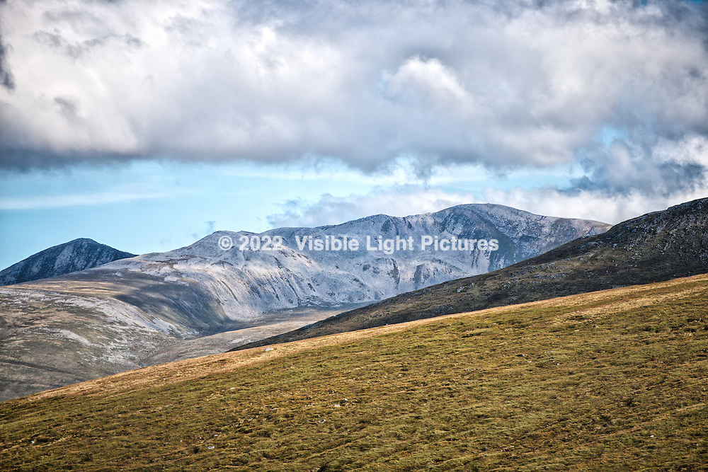 These are the hills of the Nevis Range, outside of Fort William. We took a gondola up to about 1,200 feet, then walked (and walked some more ) to an overlook of about 2,000 feet in altitude. This was the view along the way.