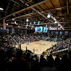 Feb 3, 2016; New Orleans, LA, USA; A general view during the second quarter of a game between the Tulane Green Wave and the Connecticut Huskies at the Devlin Fieldhouse. Mandatory Credit: Derick E. Hingle-USA TODAY Sports