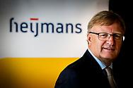 AMSTERDAM - Portret van CFO Mark van den Biggelaar van Heijmans N.V. tijdens de presentatie van de halfjaarcijfers 2017. ANP ROBIN UTRECHT